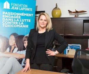 La directrice de la Fondation Jean Lapointe, Annie Papageorgiou, veut que le gouvernement Trudeau utilise les recettes de la vente du pot pour financer des programmes de prévention et de sensibilisation à la drogue.
