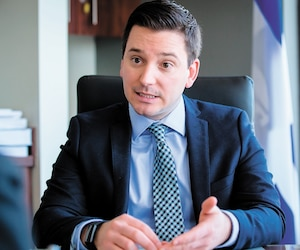 En 2016, Simon Jolin-Barrette de la CAQ avait promis de faire nommer les sénateurs québécois par l'Assemblée nationale.