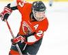 Un jeune joueur de la Structure Hockey Blizzard