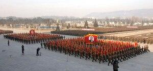 Kim Jong-Un, a appelé l'armée à se tenir prêt pour le combat.