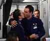 Paula Podest et Carlos Ciufffardi se sont mariés à bord de l'avion du pape.