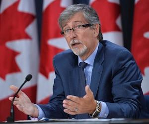 Le Commissaire à la vie privée du Canada, Daniel Therrien.