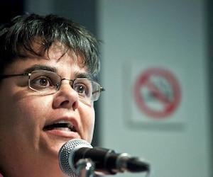 Claudie Laberge, directrice de la gestion des urgences pour l'organisation et citoyenne de Saguenay.