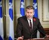 Le député péquiste de Matane-Matapédia, Pascal Bérubé, a réagi au dépôt du projet de loi encadrant la légalisation du cannabis.