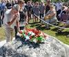Celebration du souvenir des cadets de Valcartier morts dans une explosion d'une grenade