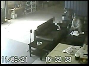 Éric Daudelin a avoué le meurtre de Joleil Campeau au patron de l'organisation criminelle fictive en juin 2011. Ses aveux ont été filmés puis présentés en preuve à son procès en mars dernier.