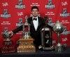 Le gardien vedette du Canadien a récolté quatre trophées au gala annuel de la LNH, présenté à Las Vegas le 24 juin dernier.