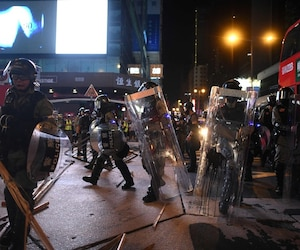 HONG KONG-CHINA-politics-CRIME-unrest