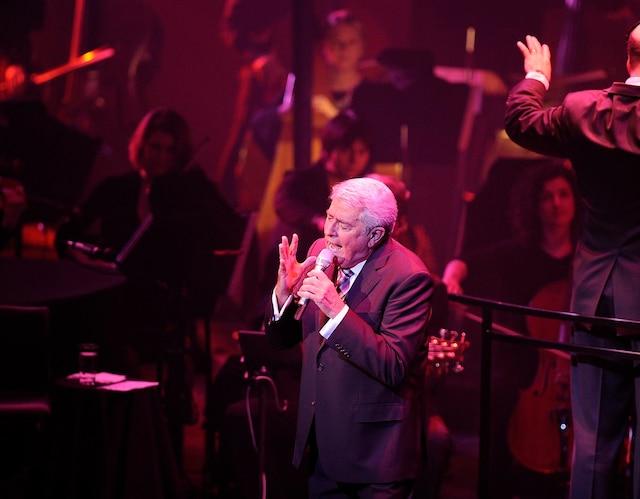 Michel Louvain est passé par toute la gamme des émotions, hier, au Grand Théâtre, lors du premier de trois concerts avec l'Orchestre symphonique de Québec.
