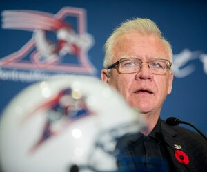 Mike Sherman a avoué en conférence de presse que sa première saison à la barre des Alouettes ne s'est pas déroulée comme prévu