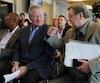 Les maires de Philadelphie et de Québec, Jim Kenney et Régis Labeaume