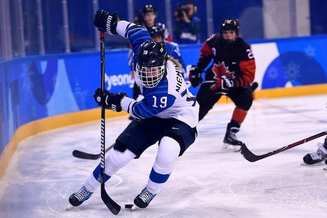 La formation canadienne a défait les Finlandaises au compte de 4-1, mardi à Kwandong, lors du deuxième match de la phase préliminaire du tournoi de hockey féminin des Jeux olympiques de Pyeongchang.