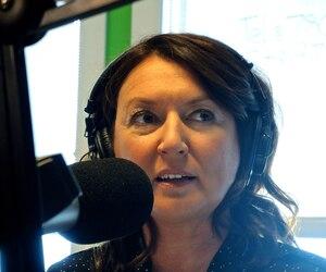 L'animatrice Nathalie Normandeau.