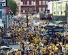 Après avoir failli déménager il y a une dizaine d'années, les Predators sont maintenant bien enracinés à Nashville. Il règne d'ailleurs une ambiance de fête aux abords du domicile de l'équipe durant les présentes séries éliminatoires.