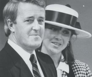 1985 - Brian Mulroney et son épouse Mila Pivnick.