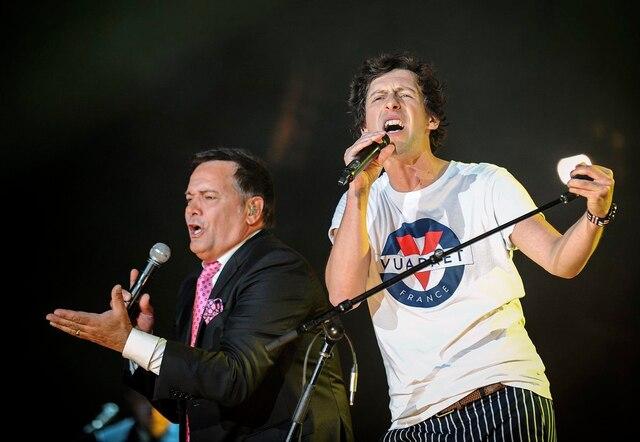 Le Festival d'été de Québec a donné carte blanche à Patrice Michaud pour son spectacle sur les plaines d'Abraham, mardi soir.