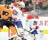Carey Price s'est dressé telle une muraille devant les tir des Flyers, mardi.