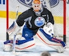 (33) CAM TALBOT lors de l'entraînement des Oilers d'Edmonton au Centre Bell le vendredi 5 février 2016. MARTIN CHEVALIER / LE JOURNAL DE MONTRÉAL / AGENCE QMI.