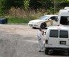 Les enquêteurs ont passé toute la journée à enquêter pour trouver des indices sur le meurtre de Sandro Duquette.