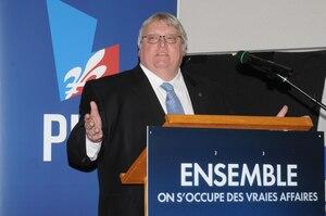 Dr Gaétan Barrette, candidat vedette du Parti libéral.