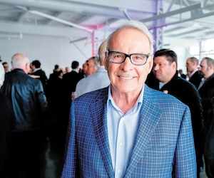 L'homme d'affaires Alain Bouchard ressent de bonnes vibrations quant au retour du baseball majeur à Montréal.