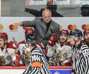 L'entraÎneur Mario Pouliot n'a pas apprécié que certains remettent en doute le désir de gagner du Titan, mardi soir, au Brandt Centre.