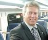 Raymond Bachant (à gauche), ex-patron de Bombardier Transport, et Joël Gauthier, ex-pdg de l'AMT, photographiés ici en août2009, n'étaient pas peu fiers du contrat d'achat de 160voitures de train de banlieue à deux étages, d'une valeur de presque 400M$.