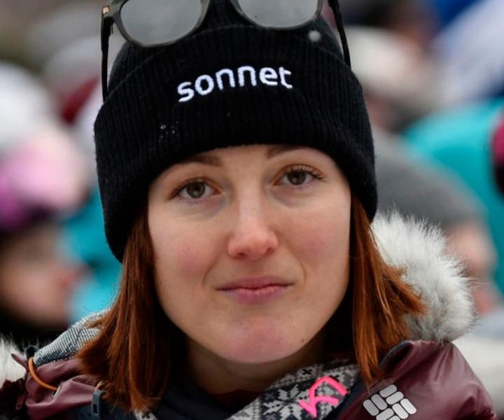 Maxime Dufour-Lapointe, analyste à la Coupe du monde de ski acrobatique à Calgary