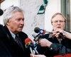 Jean-Paul L'Allier et Marcel Aubut n'ont jamais pu s'entendre sur le maintien des Nordiques à Québec au milieu des années 1990.