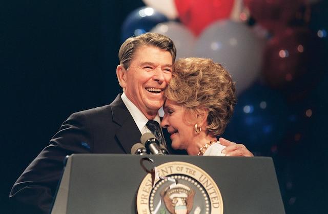 Ronald et Nancy Reagan ont vécu une histoire d'amour hollywoodienne.