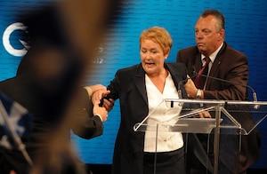 Pauline Marois au Métropolis de Montréal, le mardi 4 septembre 2012