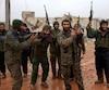 Appuyées par les raids russes, les forces gouvernementales ont repris le village de Ratian, au nord d'Alep.
