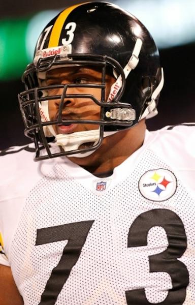 Ramon Foster #73, Pittsburgh, plaqueur. 6-5, 338 lbs. AFP