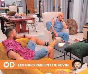 Karl, Mathieu et Louis ont tenu des propos qui volaient bas contre Kevin dans l'épisode de dimanche d'Occupation double Afrique du Sud.