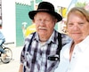 Florent Boutin, 84ans, et Jacqueline Poirier, 82ans, de Saint-Hyacinthe, assistent au Festival western de Saint-Tite depuis 50ans. L'événement existe depuis 52ans.