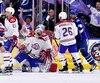 Les IceCaps de St. John's ont été éliminés par le Crunch de Syracuse, vendredi soir, en subissant un revers de 2 à 1 en prolongation.
