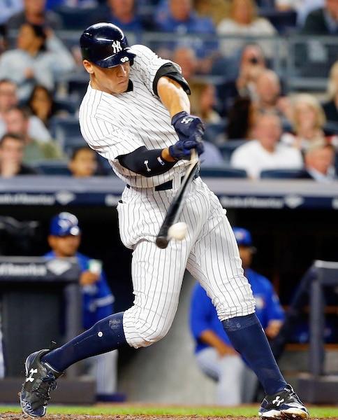 La recrue Aaron Judge, des Yankees, a connu une saison extraordinaire avec 52 coups de circuit.