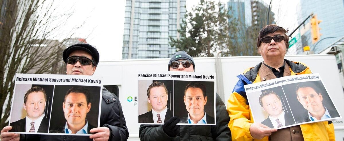 Les deux Canadiens détenus en Chine traités de façon «civilisée», selon Pékin