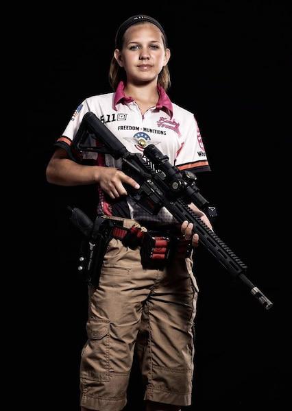 Katelyn participe depuis 2010 à des compétitions de «3-Gun».