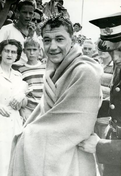 En 1960, Régent Lacoursière a été le grand vainqueur de la Traversée du lac Saint-Jean.