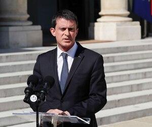 Le premier ministre français Manuel Valls.