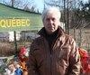 Claude Richard, un proche de la Fondation Cédrika-Provencher, n'avait pas le droit de se tenir dans un parc, où il a été intercepté.