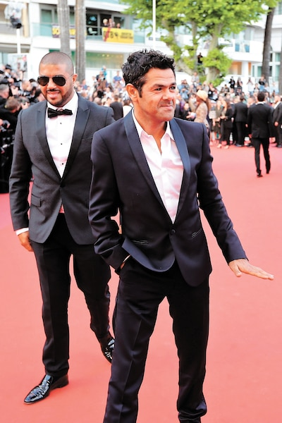 Jamel Debbouze (à droite)