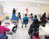 L'an dernier, la durée et la difficulté de l'examen de mathémathique en 6e année avait suscité une levée de boucliers. Sur la photo, une classe de 6e année de Montréal que Le Journal avait visitée en janvier 2018.