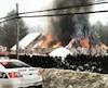 L'incendie s'est déclaré jeudi dans le garage d'une résidence de Blainville, dans les Laurentides.