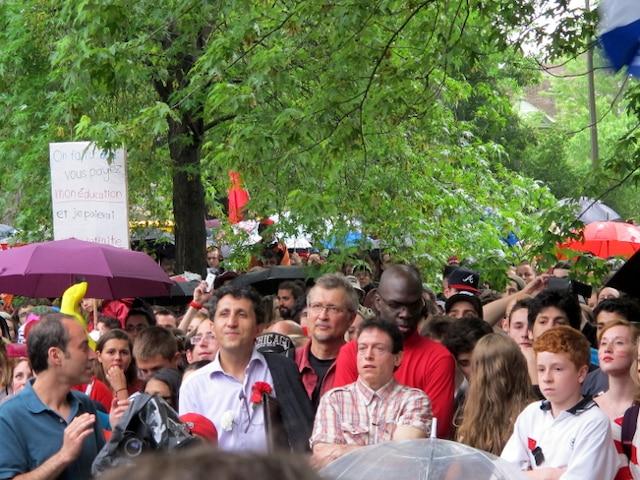 Manifestation étudiante du 22 mai.
