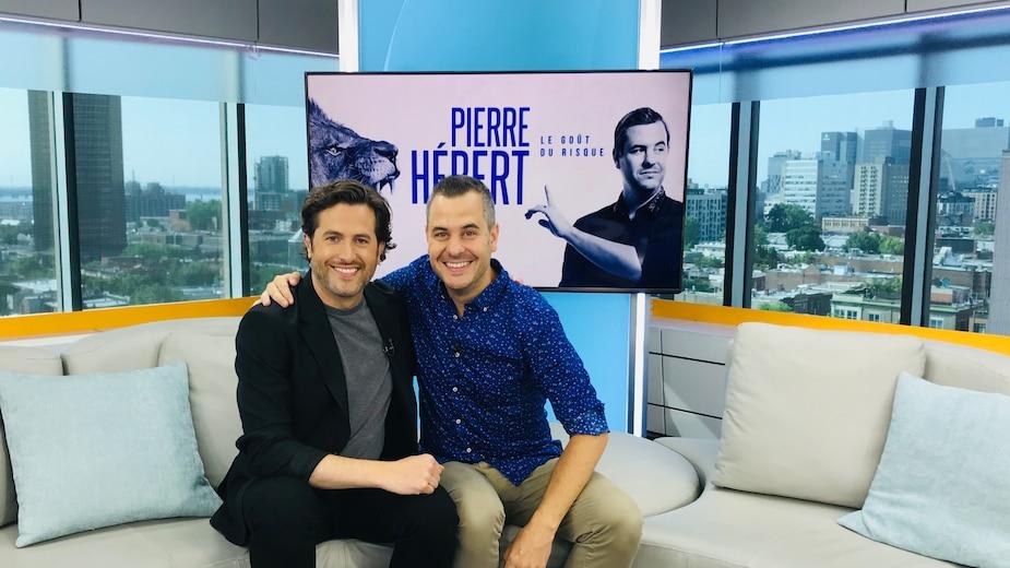 Pierre Hébert animera un gala ComediHa! ce mois-ci