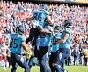Les Titans ont célébré avec raison une victoire étonnante qui les rapproche d'une improbable place en séries.