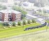 Le tramway passera dans l'emprise d'Hydro-Québec, derrière les résidences du boulevard Pie-XII, à Sainte-Foy. Ce tracé est contesté par une partie des citoyens du secteur.