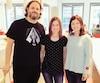 La Belge Aurore Davignon anime l'émission radio Tabarnak !. Elle a récemment rencontré Karl Tremblay et Marie-Annick Lépine des Cowboys Fringants.